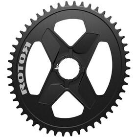 Rotor Q-Ring Klinge Oval 1x DM Alu, black